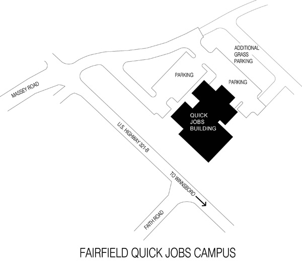 Midlands Tech Campus Map.Fairfield Campus Map Midlands Technical College Continuing Education